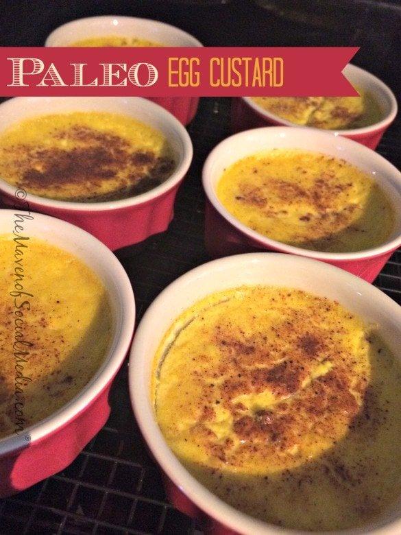 Paleo Egg Custard
