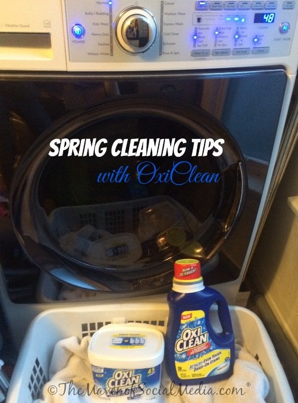 Spring Cleaning Tips begin with OxiClean