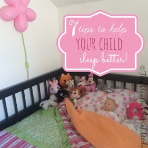 Tips To Help Your Child Sleep Better