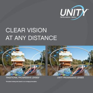 I'm getting new glasses with UNITY lenses!