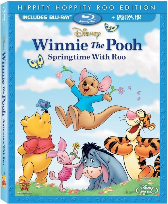 Winnie the Pooh: Springtime with Roo on Blu-ray and Digital Hi-Def Today 3/11