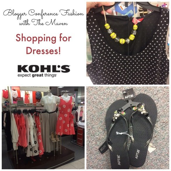 Blogging Conference Fashion – Dresses at Kohl's