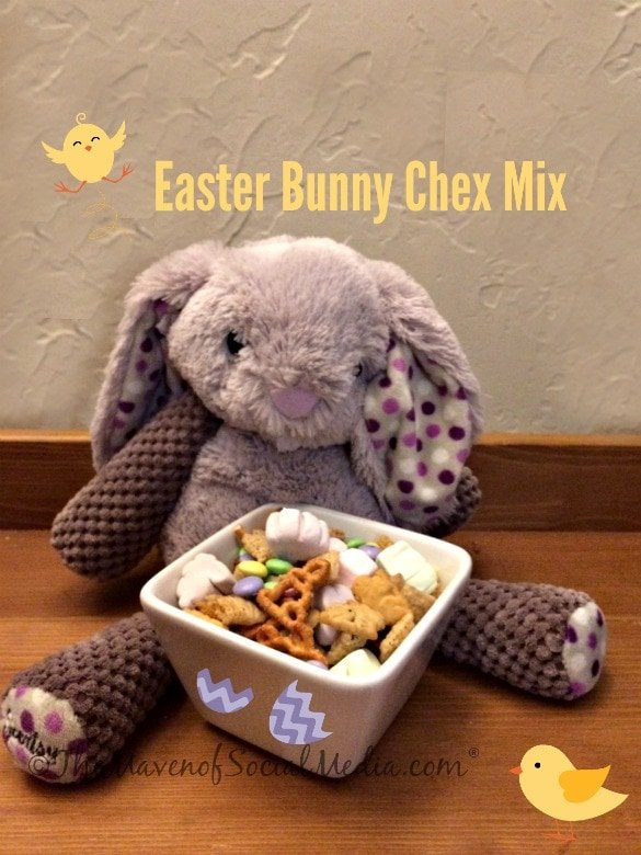 Easter Bunny Chex Mix