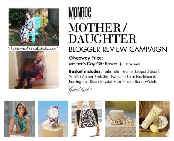 Mom and Me Fashion: Mother's Day with Monroe and Main #MMBloggerSpotlight #Giveaway #Sponsored