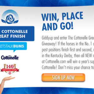 Getting Lucky In Kentucky – The Great Finish Sweepstakes