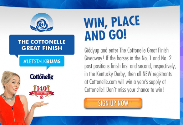 Getting Lucky In Kentucky - The Great Finish Sweepstakes