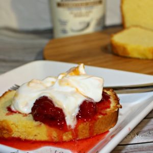 Tillamook greek yogurt dessert with strawberry compote #firsttaste #sponsored