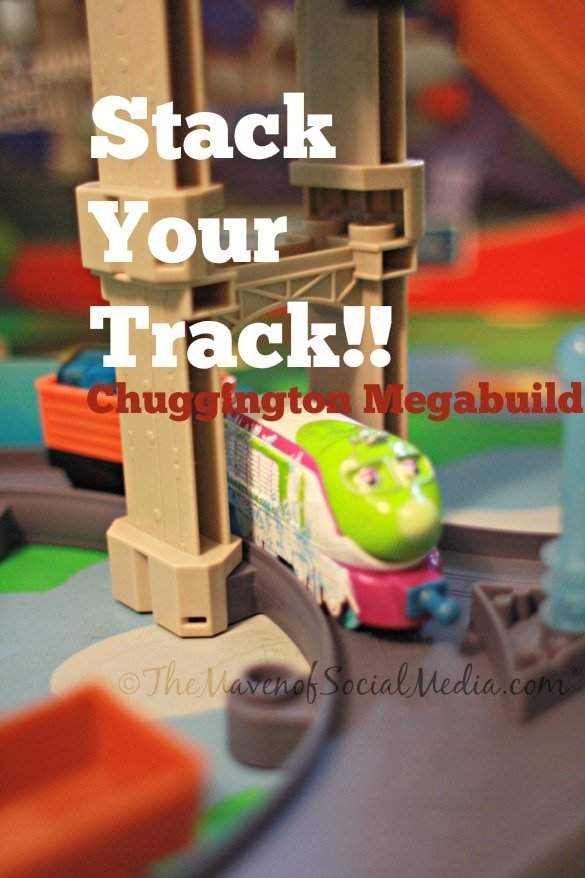 Having fun with Chuggington train!