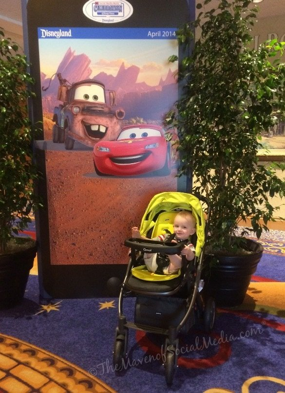 Edison's Luxury Stroller - The Joovy Qool at DisneySMMoms