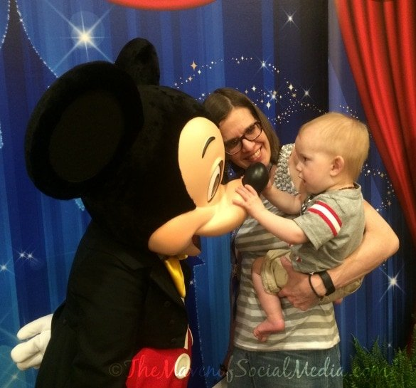 Meeting Mickey