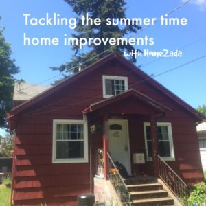 Tackling the summer time home improvements #HomeManagementOnline #ad