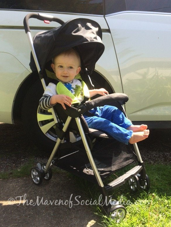 colorful lightweight stroller