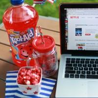 Easy Kool-Aid Popcorn - perfect for summer movie nights #KoolOff #Shop #Cbias
