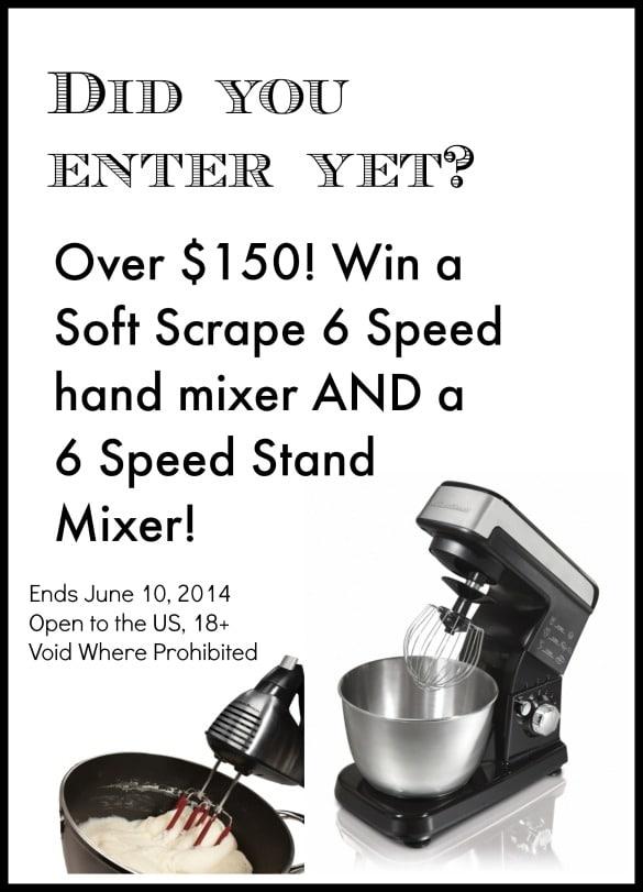 Hamilton Beach Mixer Giveaway
