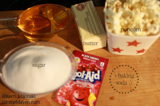 Kool-Aid Popcorn Ingredients #KoolOff #shop #cbias