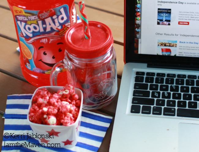 Kool-Aid Popcorn #KoolOff #cbias #shop