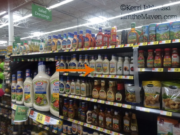 Kraft Pourables at Walmart #FoodDeservesDelicious #shop