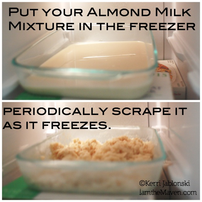 Making Almond Milk Ice Cream #SilkAlmondBlends #Shop.