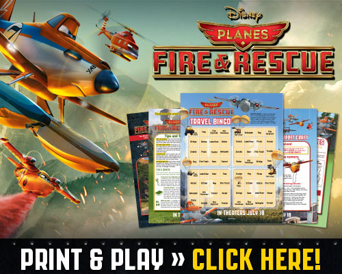 Planes Fire and Rescue Printable