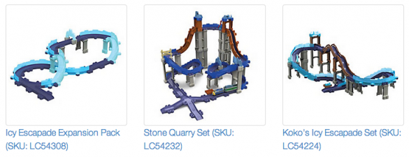 Chuggington StackTrack sets