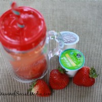 Strawberry Muddle Mocktail #BrewOverIce #BrewItUp #shop