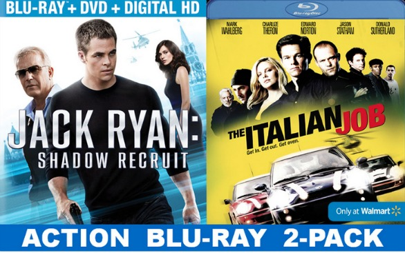 Walmart Exclusive Special #JackRyanBluRay #shop
