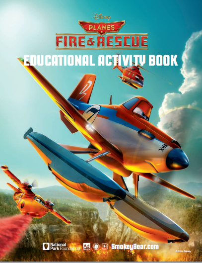 Planes: Fire & Rescue / Educational Activity Book