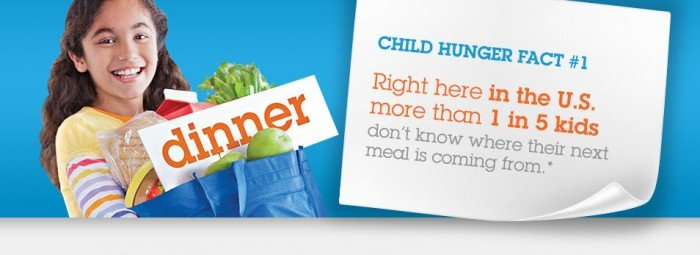 It's time to end childhood hunger.