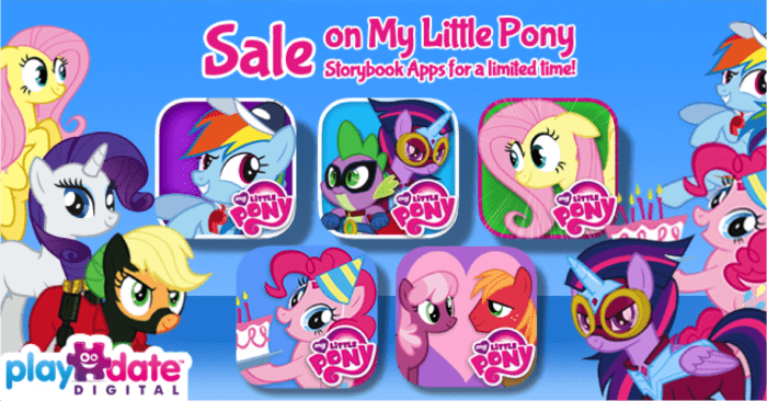 Free and Discounted My Little Pony Apps! (ends 8/7/14)