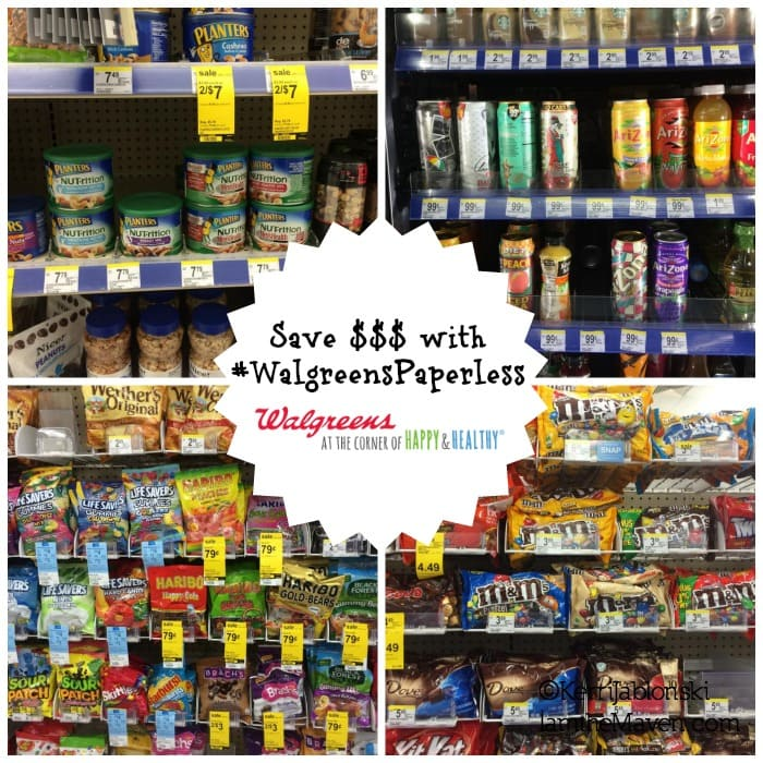 Save money on road trips with paperless coupons at Walgreens!