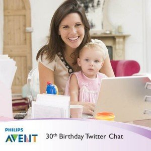 Philips AVENT 30th Birthday Twitter Chat TODAY 9/16 at 5pm PST