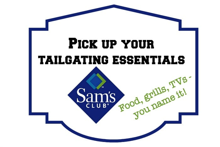 Get your tailgating essentials at Sam's Club!