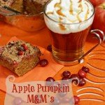 Apple Pumpkin M&M's Crumble Cake #FlavorofFall #CollectiveBias #Shop
