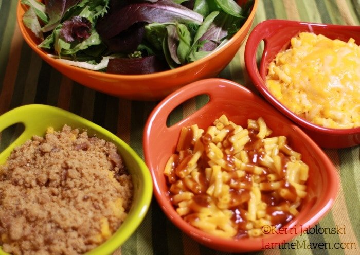 Budget friendly meals : Mac and Cheese 3 Ways