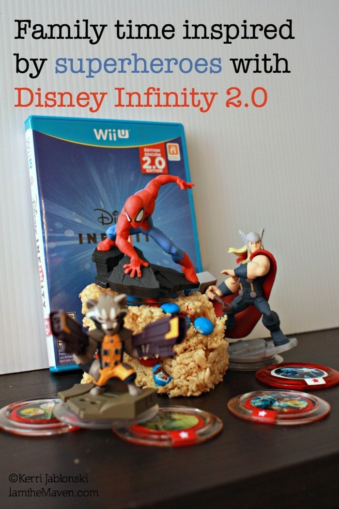 Family time inspired by superheroes with Disney Infinity 2.0