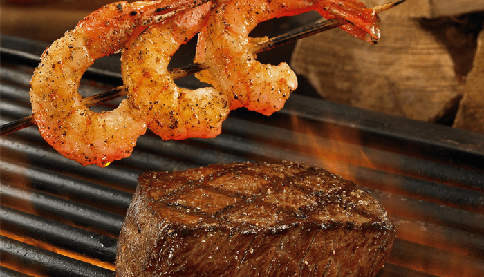 Outback's Steak and Unlimited Shrimp is bigger and better than ever!