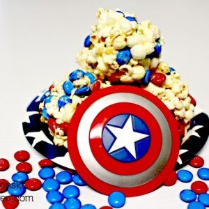 Celebrate Captain America: The Winter Soldier with M&M's Popcorn Balls