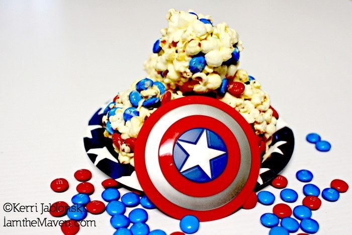 Popcorn balls are super easy to make #HeroesEatMMs #cbias #shop
