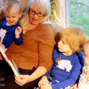 A visit from Nanni: Things to do with grandparents!