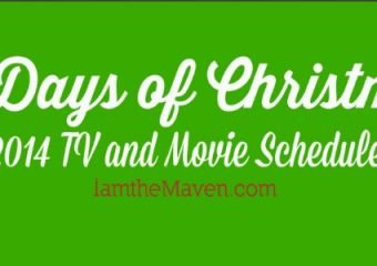 Amazon 25 Days of Christmas 2014 TV and Movie Schedule