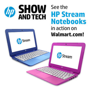 Join the #HPShowandTech Twitter Party from 4-5 pm ET on 11/11. $50 Walmart Gift Card Prizes