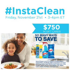 RSVP for the #InstaClean Twitter Party
