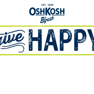 Give Happy this Holiday at OshKosh Bgosh