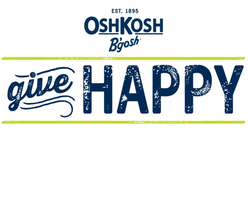 Give Happy this Holiday at OshKosh Bgosh