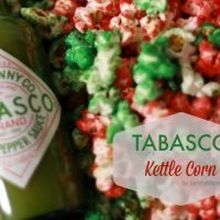 Tabasco Kettle Corn! #SeasonedHoliday #ad