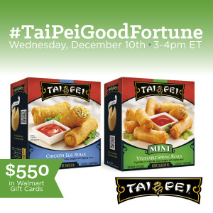 Join me for the #TaiPeiGoodFortune Twitter Party