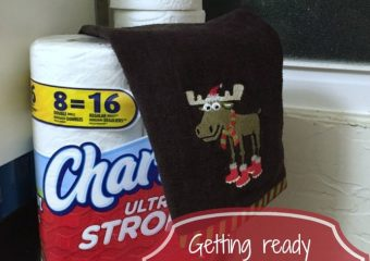 Getting ready for the holidays with Charmin Toilet Tissue