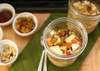 Golden Raisin and Maple Overnight Oatmeal