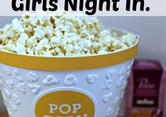 Grab some popcorn for a girls night in #LifesLittleLeaks #ad