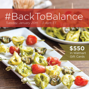 Join me and RSVP for the #BackToBalance Twitter Party on SoFabChats!